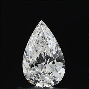 Picture of 0.53 Carats, Pear Diamond with  Cut, F Color, VVS2 Clarity and Certified by GIA