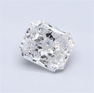 Foto 0.70 quilates, Radiante Diamante , Color E, claridad SI3 y certificado por EGL de
