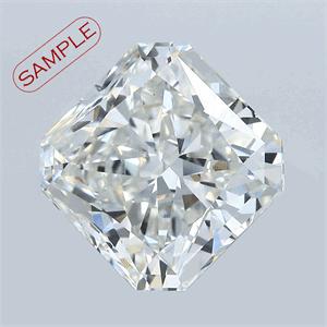 Foto 0.72 quilates, Radiante Diamante , Color I, claridad SI1 y certificado por EGL de