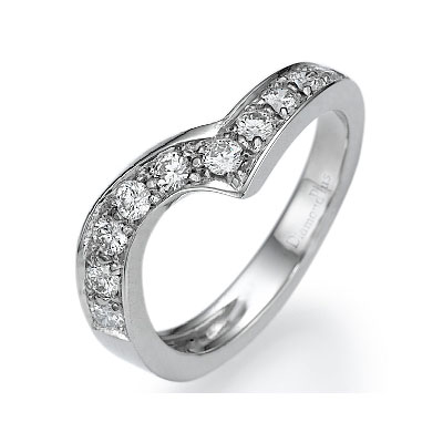Matching wedding band for engagement ring 290369
