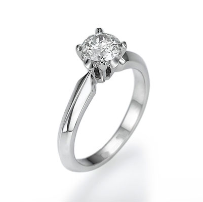 1.51 Carats, Princess, Engagement ring with side stones settings