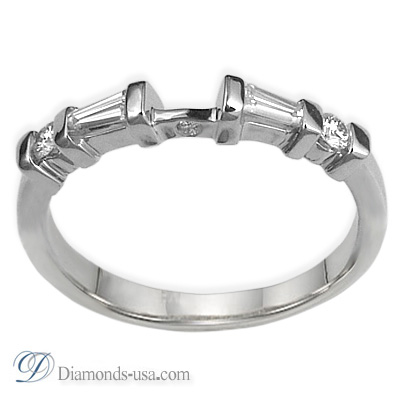0.26  carats matching wedding band