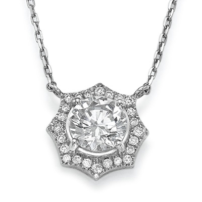 The Sun diamonds pendant