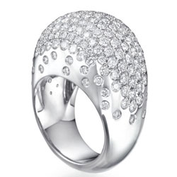 Bombay diamond Cocktail designers ring, 4.50 carats