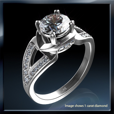 Designers engagement ring