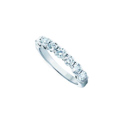 1 carat seven diamonds ring