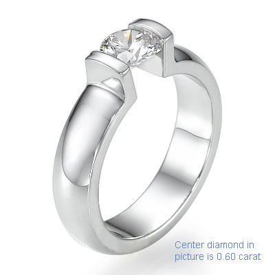 0.71 Carats, Oval, Engagement ring, solitaire diamond