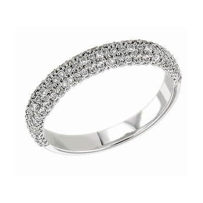 Diamonds wedding or anniversary ring
