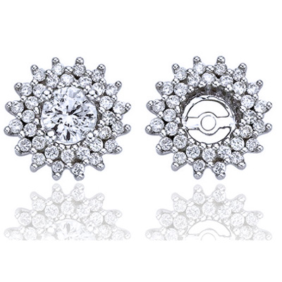 Diamond earring Jacket 0.70 carats